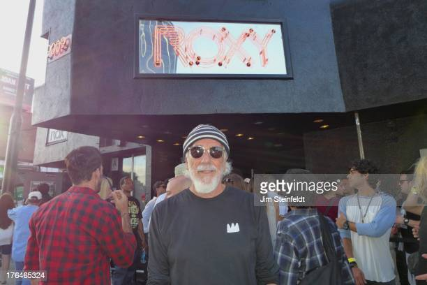 Lou Adler poses for a portrait outside the Roxy during the Sunset Strip Music Festival in Los Angeles California on August 3 2013