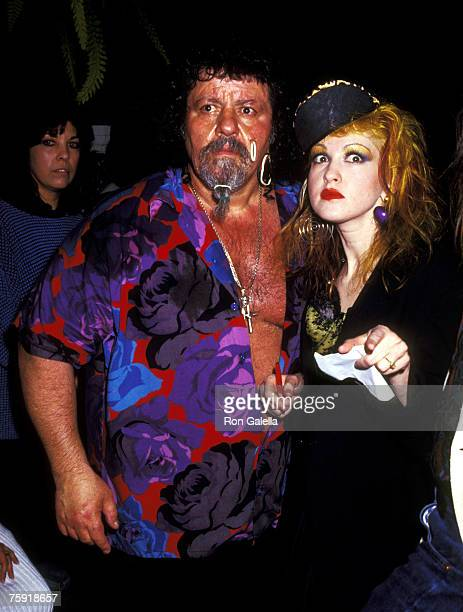 Lou Albano and Cyndi Lauper