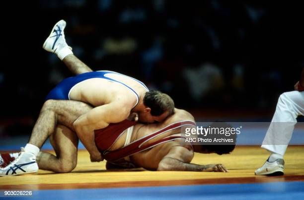 Lou Banach Joseph Atiyeh Men's Wrestling competition Anaheim Convention Center at the 1984 Summer Olympics August 7 1984