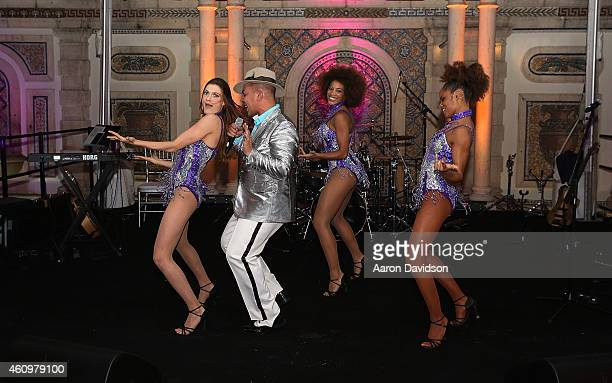 Lou Bega attends New Years Eve And Birthday Party For Irina Agalarova at Barton G on December 31, 2014 in Miami Beach, Florida.