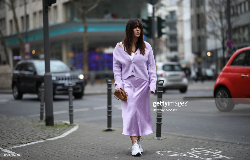 Street Style - Cologne - January 24, 2020 : Photo d'actualité