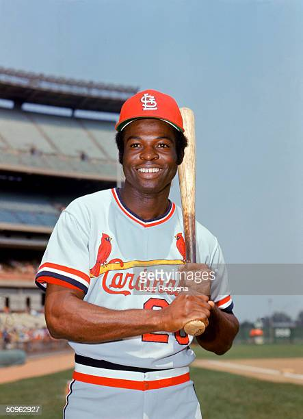 Lou Brock of the St Louis Cardinals poses for a portrait circa 196479 Lou Brock played for the St Louis Cardinals from 19641979