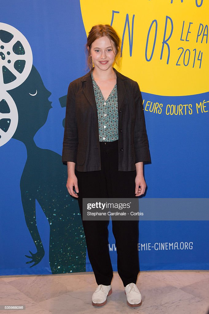 Lou De Laage attends the 'Panorama des Nuits en or' gala dinner at UNESCO on June 16, 2014 in Paris, France.