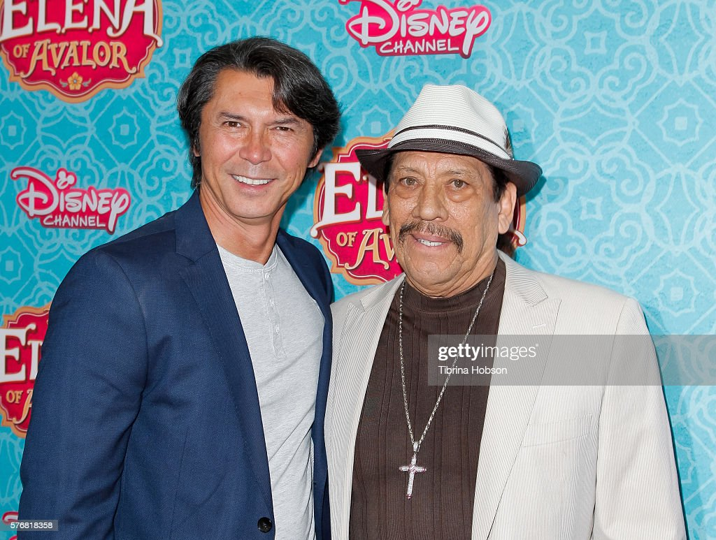 Lou Diamond Phillips and Danny Trejo attend the screening of Disney Channel's 'Elena Of Avalor' at The Paley Center for Media on July 16, 2016 in Beverly Hills, California.