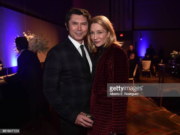 Lou Diamond Phillips and Yvonne Boismier Phillips attend A Legacy Of Changing Lives presented by the Fulfillment Fund at The Ray Dolby Ballroom at...