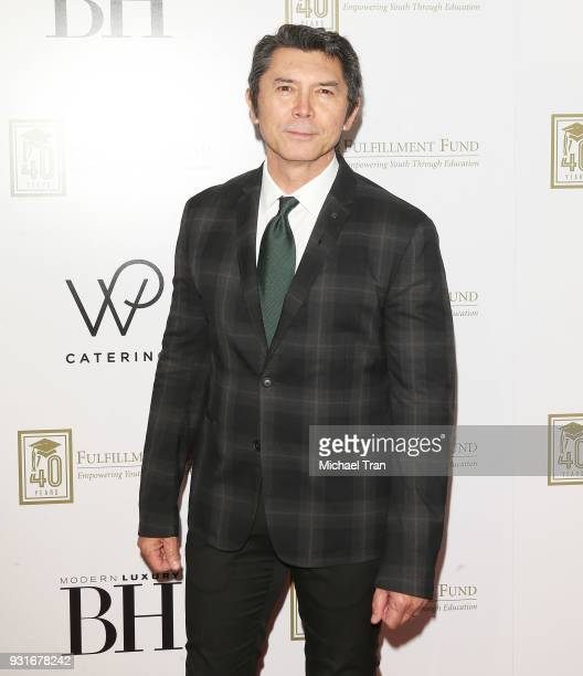 Lou Diamond Phillips attends A Legacy of Changing Lives presented by The Fulfillment Fund held at The Ray Dolby Ballroom at Hollywood Highland Center...