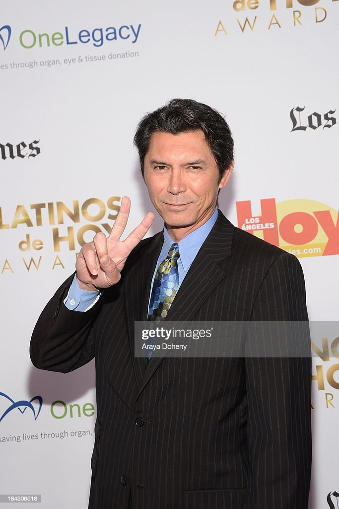 Lou Diamond Phillips attends the 2013 Latinos de Hoy Awards at Los Angeles Times' Chandler Auditorium on October 12, 2013 in Los Angeles, California.