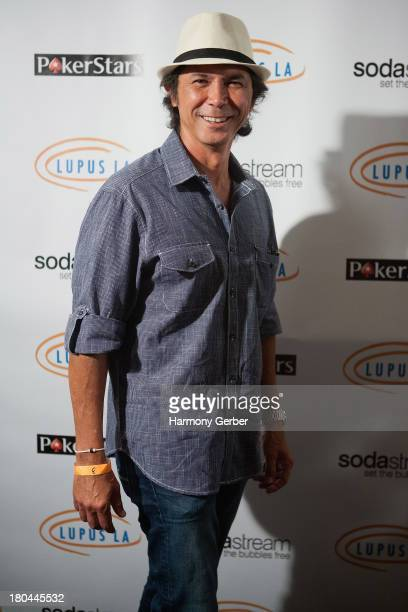 Lou Diamond Phillips attends the Get Lucky For Lupus LA! event at Peterson Automotive Museum on September 12, 2013 in Los Angeles, California.