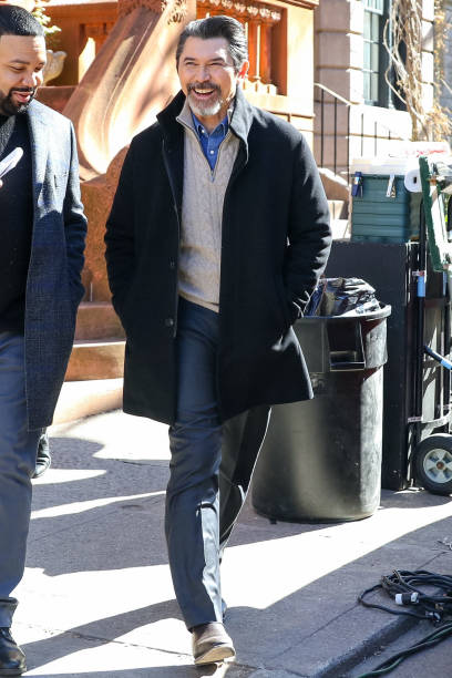 NY: Celebrity Sightings In New York City - March 02, 2021
