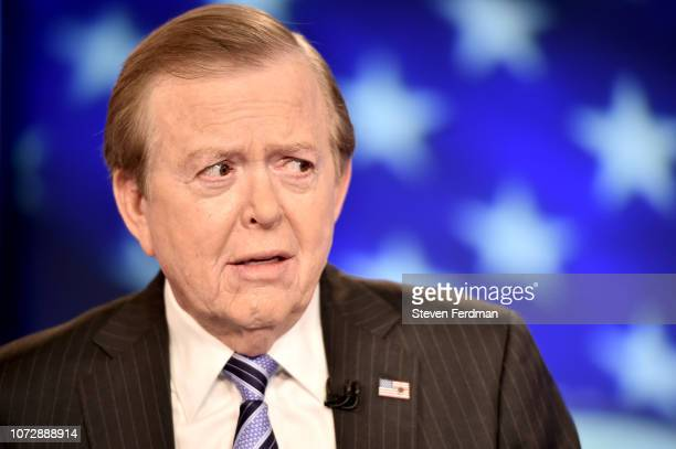Lou Dobbs hosts 'Lou Dobbs Tonight' at Fox Business Network Studios on December 13 2018 in New York City