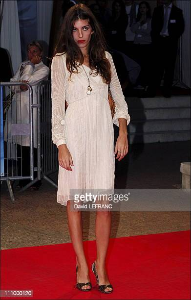 Lou Doillon at the 32nd American film festival in Deauville France on September 07th 2006