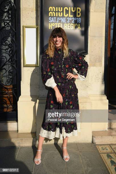 Lou Doillon attends Miu Miu 2019 Cruise Collection Show at Hotel Regina on June 30 2018 in Paris France
