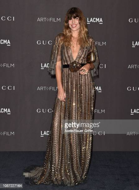 Lou Doillon attends the 2018 LACMA Art Film Gala at LACMA on November 03 2018 in Los Angeles California