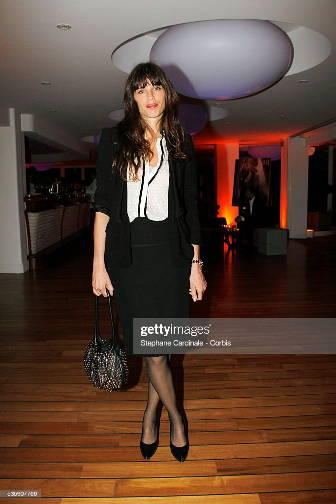 Lou Doillon attends the 'Dior Dinner' during the 63rd Cannes International Film Festival.