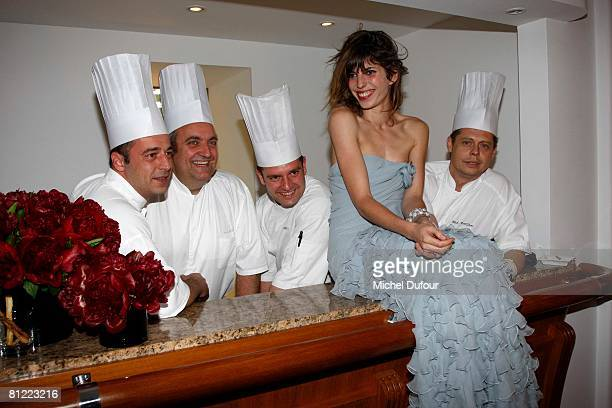 Lou Doillon attends the Dior Party at Eden Roc Hotel during the 61st International Cannes Film Festival on May 23, 2008 in Cannes, France.