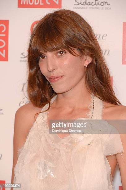 Lou Doillon attends the Sidaction Gala Dinner 2013 at Pavillon d'Armenonville on January 24 2013 in Paris France