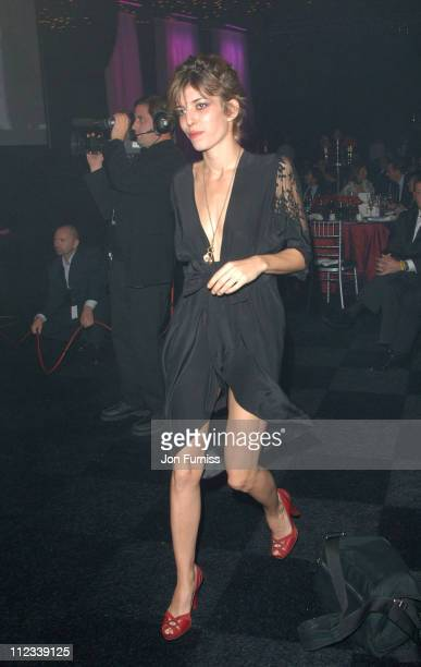 Lou Doillon during 2007 Pirelli Calendar Launch Cocktail Reception and Gala Dinner at Battersea Evolution in London Great Britain
