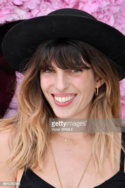 Lou Doillon during the Dior Homme Menswear Spring/Summer 2019 fashion show as part of Paris Fashion Week on June 23 2018 in Paris France