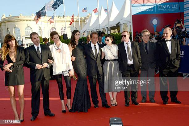 Lou Doillon Xavier Giannoli Helene Fillieres Famke Janssen Vincent Lindon Rebecca Zlotowski Jean Echenoz Bruno Nuytten and Pierre Lescure attend the...