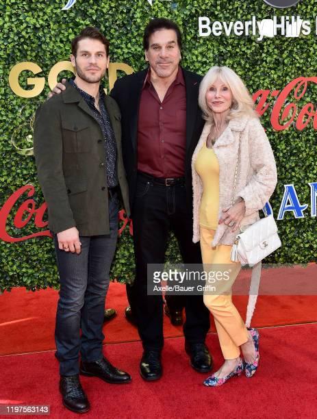 Lou Ferigno Jr Lou Ferigno and Carla Ferigno attend the 7th Annual Gold Meets Golden at Virginia Robinson Gardens and Estate on January 04 2020 in...