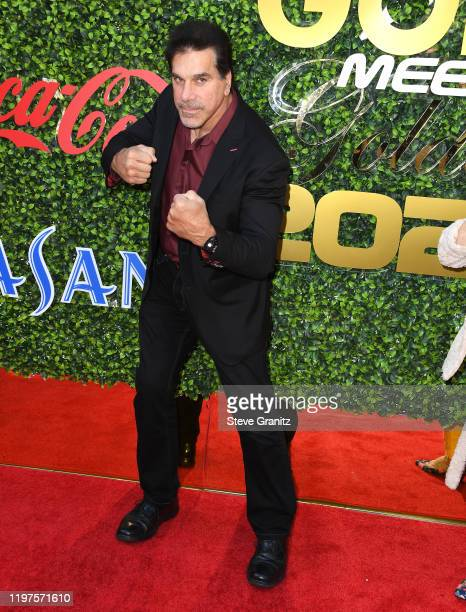 Lou Ferrigno arrives at the 7th Annual Gold Meets Golden at Virginia Robinson Gardens and Estate on January 04, 2020 in Los Angeles, California.