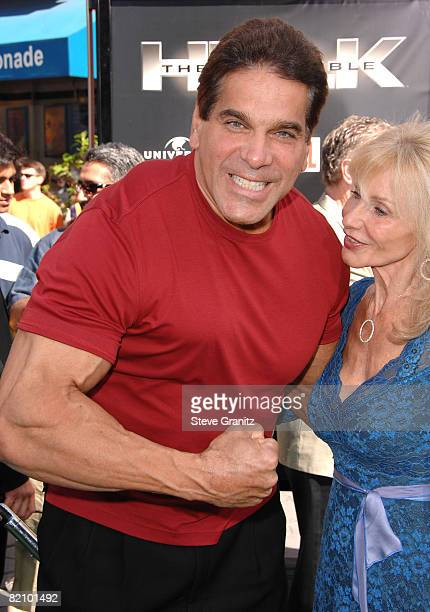 """Lou Ferrigno arrives at the Premiere Of Universal Pictures' """"The Incredible Hulk"""" on June 8, 2008 in Universal City, California."""