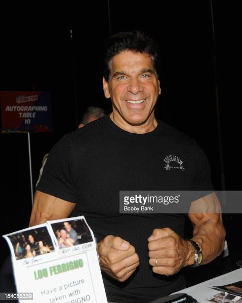 Lou Ferrigno attends the 2012 New York Comic Con at the Javits Center on October 13 2012 in New York City