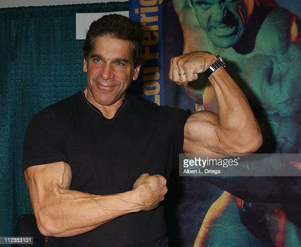 Lou Ferrigno during 2006 Wizard World Los Angeles - Day One at Los Angeles Convention Center in Los Angeles, CA, United States.