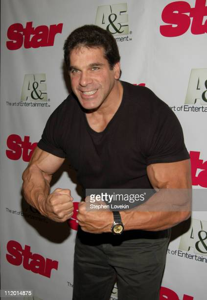 Lou Ferrigno during AE Network and Star Magazine Celebrate The Launch of Growing Up Gotti at Gotham Hall in New York City New York United States