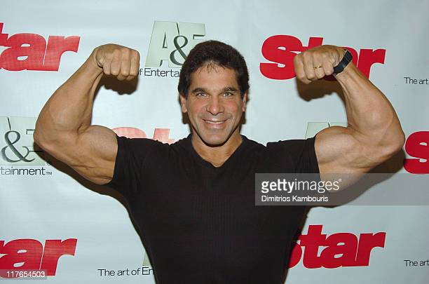 """Lou Ferrigno during A&E Network and Star Magazine Celebrate The Launch of """"Growing Up Gotti"""" at Gotham Hall in New York City, New York, United States."""