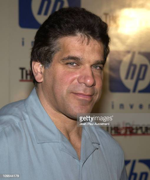 Lou Ferrigno during HP and The Hollywood Reporter Celebrate The Future Through TV Film Arrivals at Astra West in West Hollywood California United...