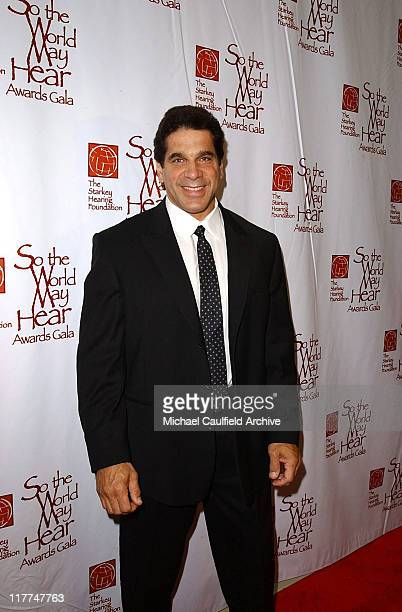 Lou Ferrigno during So The World May Hear Awards Gala All Access at Rivercentre in St Paul Minnesota United States