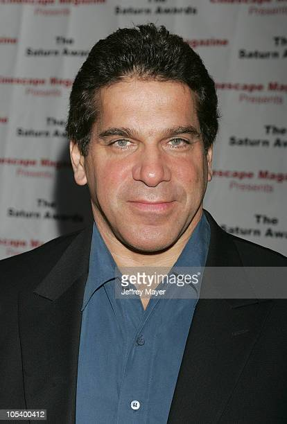 Lou Ferrigno during The 30th Annual Saturn Awards - Arrivals at Sheraton Universal Hotel in Universal City, California, United States.