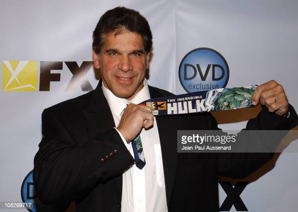 Lou Ferrigno during The 3rd Annual DVD Exclusive Awards at The Wiltern Theater LG in Los Angeles California United States