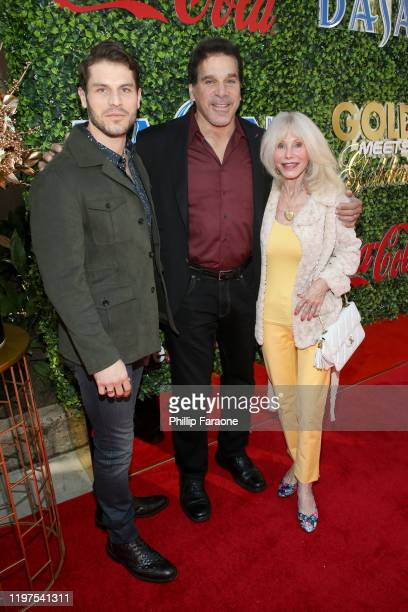 Lou Ferrigno Jr Lou Ferrigno and Carla Ferrigno attend GOLD MEETS GOLDEN 2020 presented by CocaCola BMW Beverly Hills And FASHWIRE and hosted by...