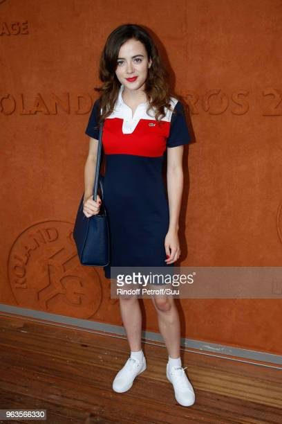 Lou Gala attends the 2018 French Open Day Three at Roland Garros on May 29 2018 in Paris France