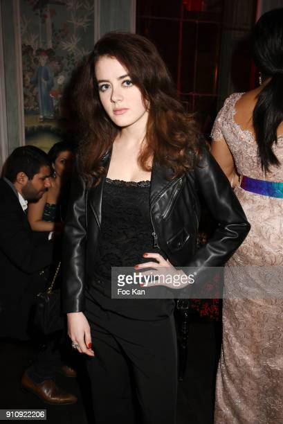 Lou Gala attends the The Couture Ball Le Jean Paul Benielli Show Party at Le Mona Bismarck on January 26 2018 in Paris France