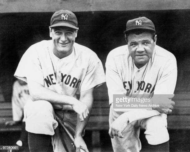 Lou Gehrig and Babe Ruth team up for final championship together