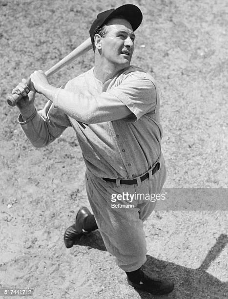 Lou Gehrig Batting