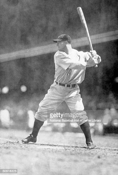 Lou Gehrig of the New York Yankees bats during a game circa 19231939 Lou Gehrig played for the Yankees from 19231939
