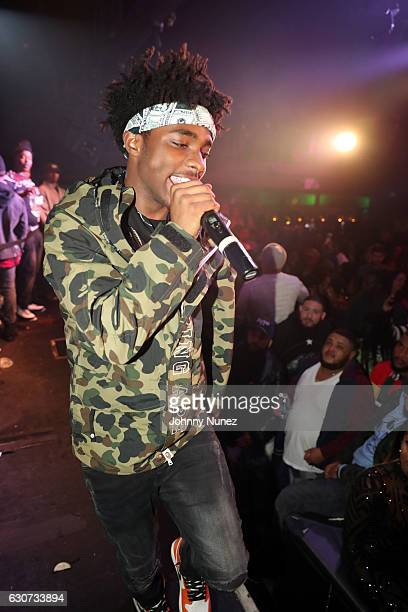Lou Got Cash performs at the New Year's Eve Preparty With Meek Mill on December 30 2016 in New York City