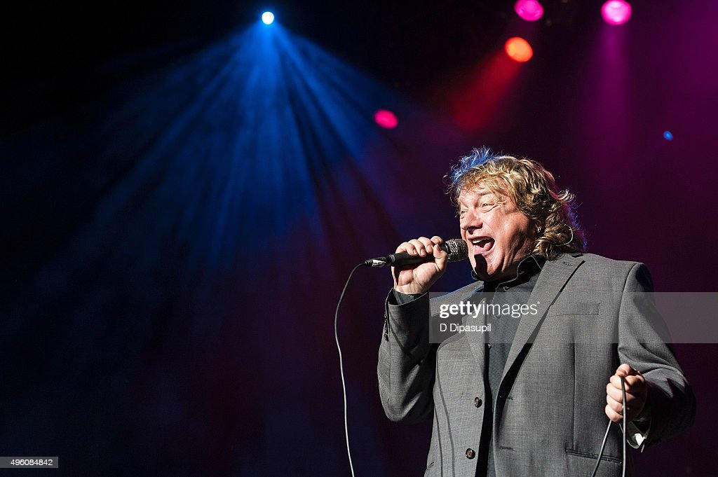 Lou Gramm performs onstage during the 'I Want My 80's' concert at The Theater at Madison Square Garden on November 6, 2015 in New York City.