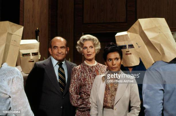 Lou Grant a CBS television drama about life at the Los Angeles Tribune newspaper Episode Prisoner Original airdate October 2 1978 Left to right...