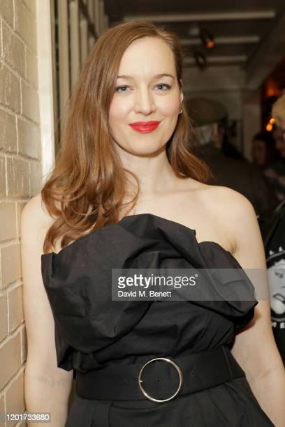 Lou Hayter attends the Warner Music CIROC BRIT Awards house party in association with GQ at The Chiltern Firehouse on February 18 2020 in London...
