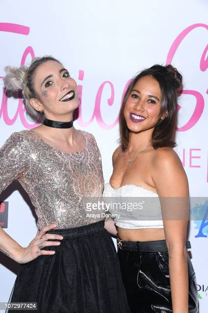 Lou Jouan and Valerie Almar attend the URBAN2020 Fabrice Spies Benefiting STOP Trafficking of People on December 13 2018 in Los Angeles California