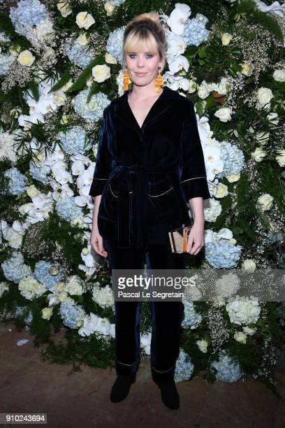 Lou Lesage attends the 16th Sidaction as part of Paris Fashion Week on January 25 2018 in Paris France