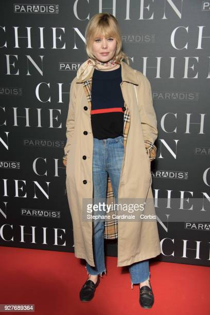 Lou Lesage attends the 'Chien' Paris Premiere at Mk2 Bibliotheque on March 5 2018 in Paris France
