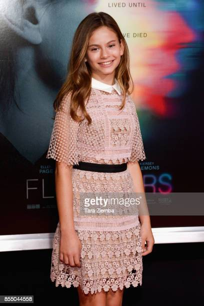 Lou Lou Safran attends the premiere of Columbia Pictures' 'Flatliners' at The Theatre at Ace Hotel on September 27 2017 in Los Angeles California