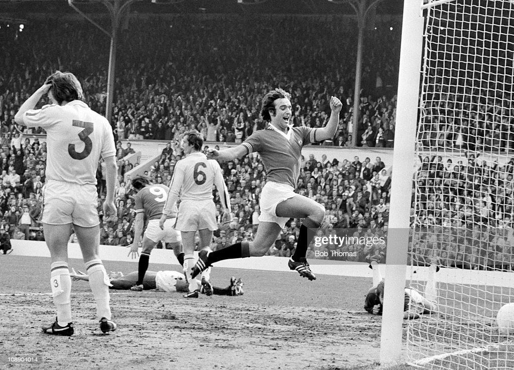 FA Cup Semi-Final - Manchester United v Leeds United : News Photo