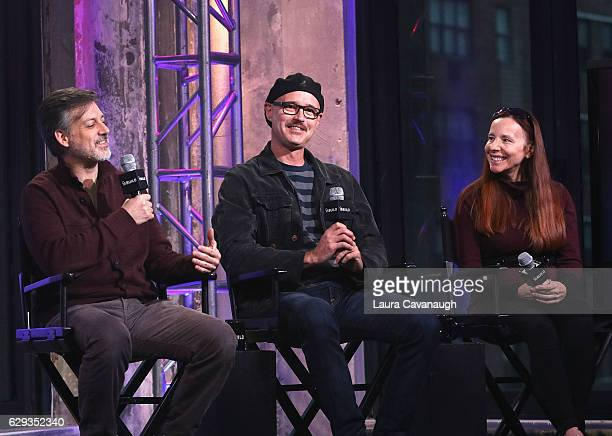 Lou Pepe Keith Fulton and Vonda Viland attend Build Presents to discuss 'The Bad Kids' at AOL HQ on December 12 2016 in New York City